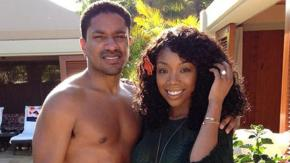 Brandy Norwood and Ryan Press Engagement pic1