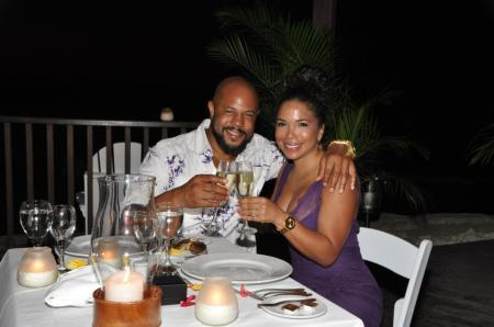 Rockmond Dunbar and Maya Gilbert Engagement pic2